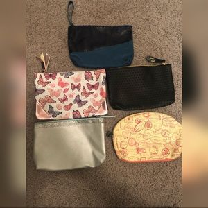 Lot of 5 Ipsy Make Up Bags